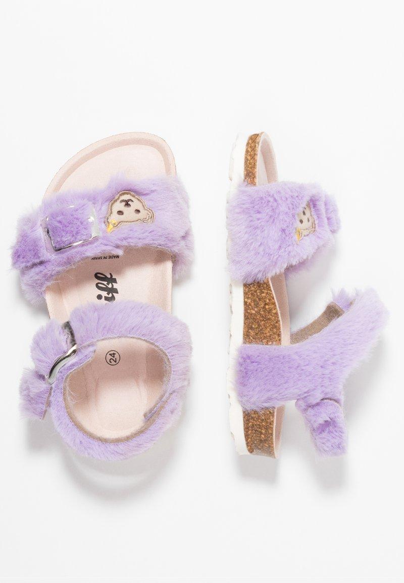 Steiff Shoes - THELMAA - Sandaalit nilkkaremmillä - lila