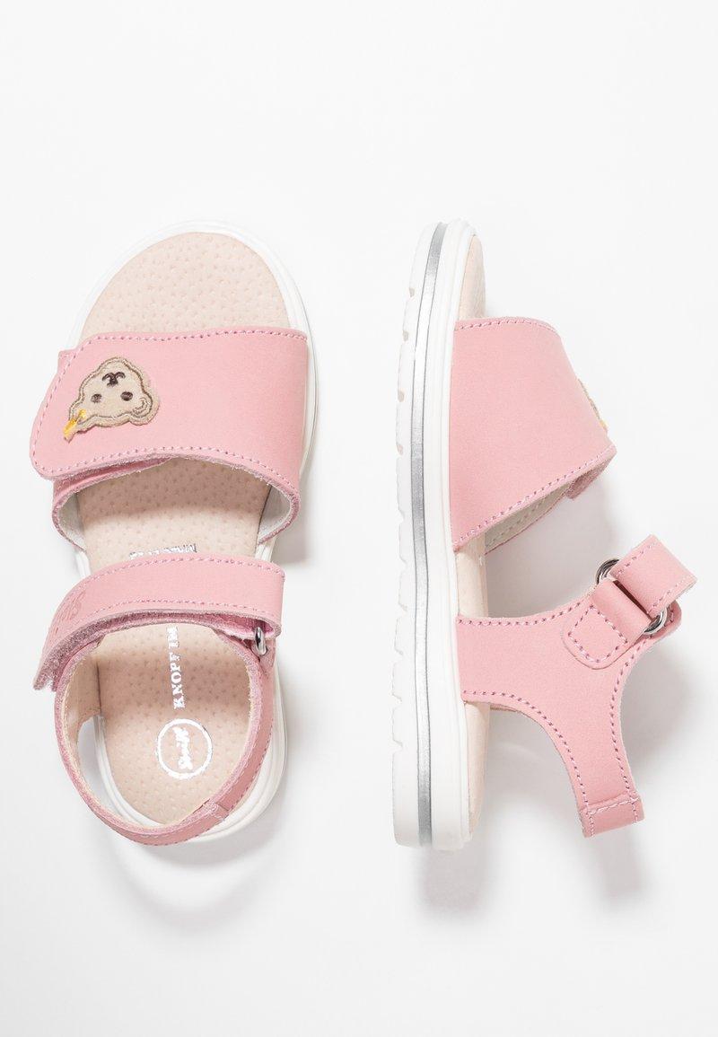 Steiff Shoes - ANNA - Sandaalit nilkkaremmillä - pink