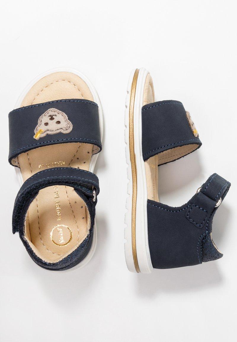 Steiff Shoes - ANNETTA - Sandalen - navy
