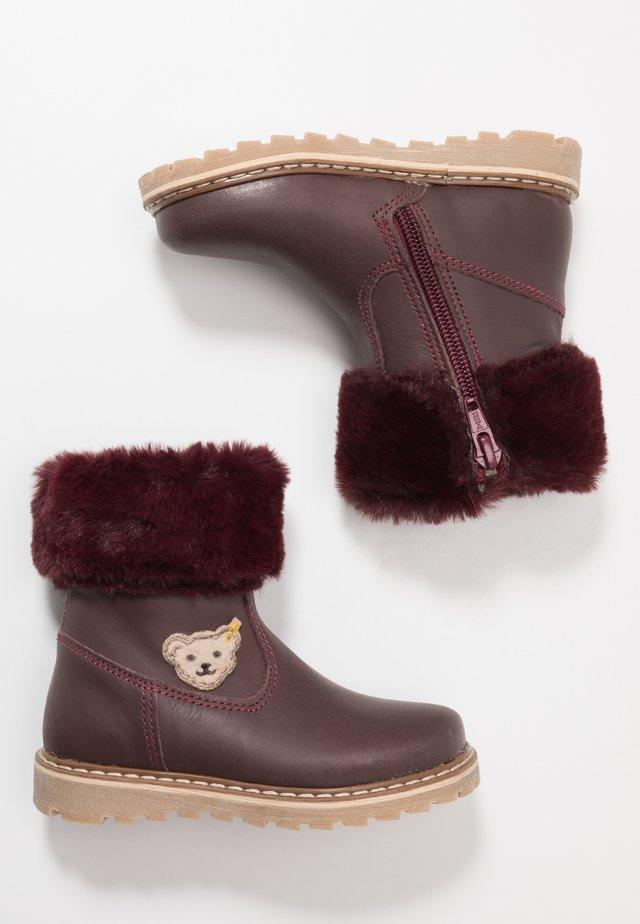 BELLAA - Høje støvler/ Støvler - bordeaux