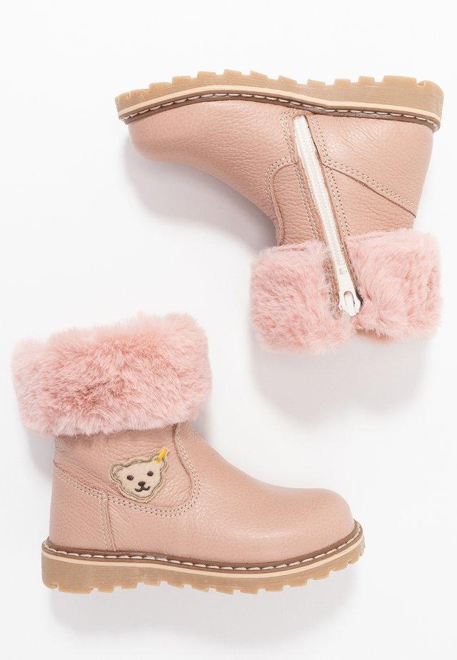 BELLAA - Høje støvler/ Støvler - nude