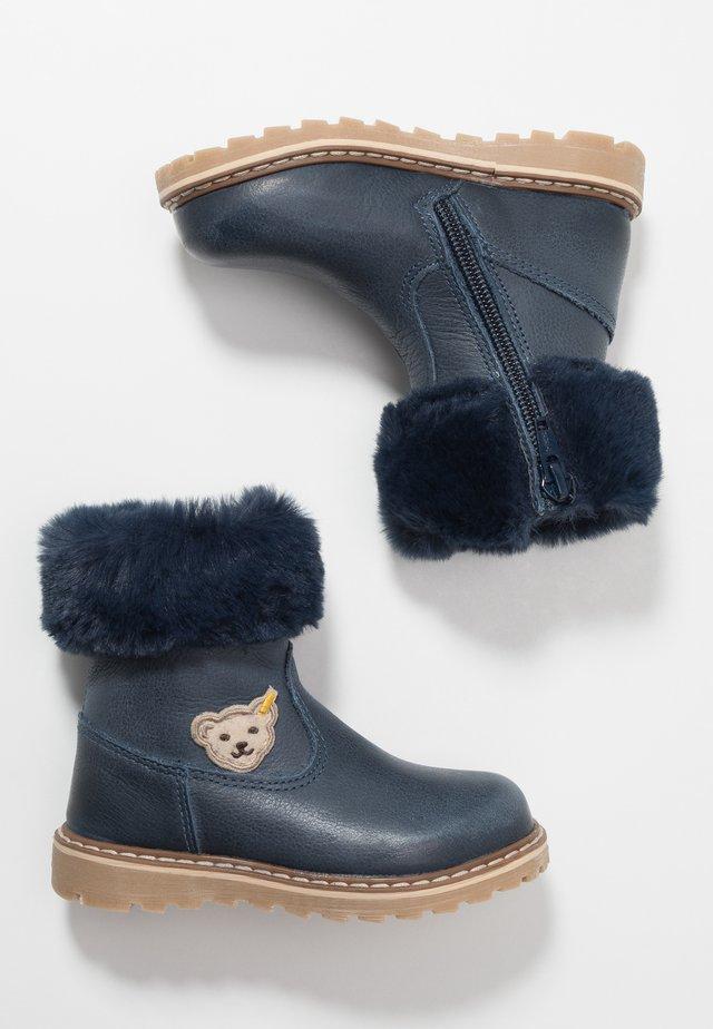 BELLAA - Høje støvler/ Støvler - blue