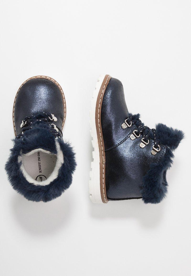 Steiff Shoes - HOLLIEE - Nauhalliset nilkkurit - blue