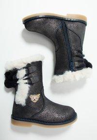 Steiff Shoes - PAMELAA - Nilkkurit - blue - 0