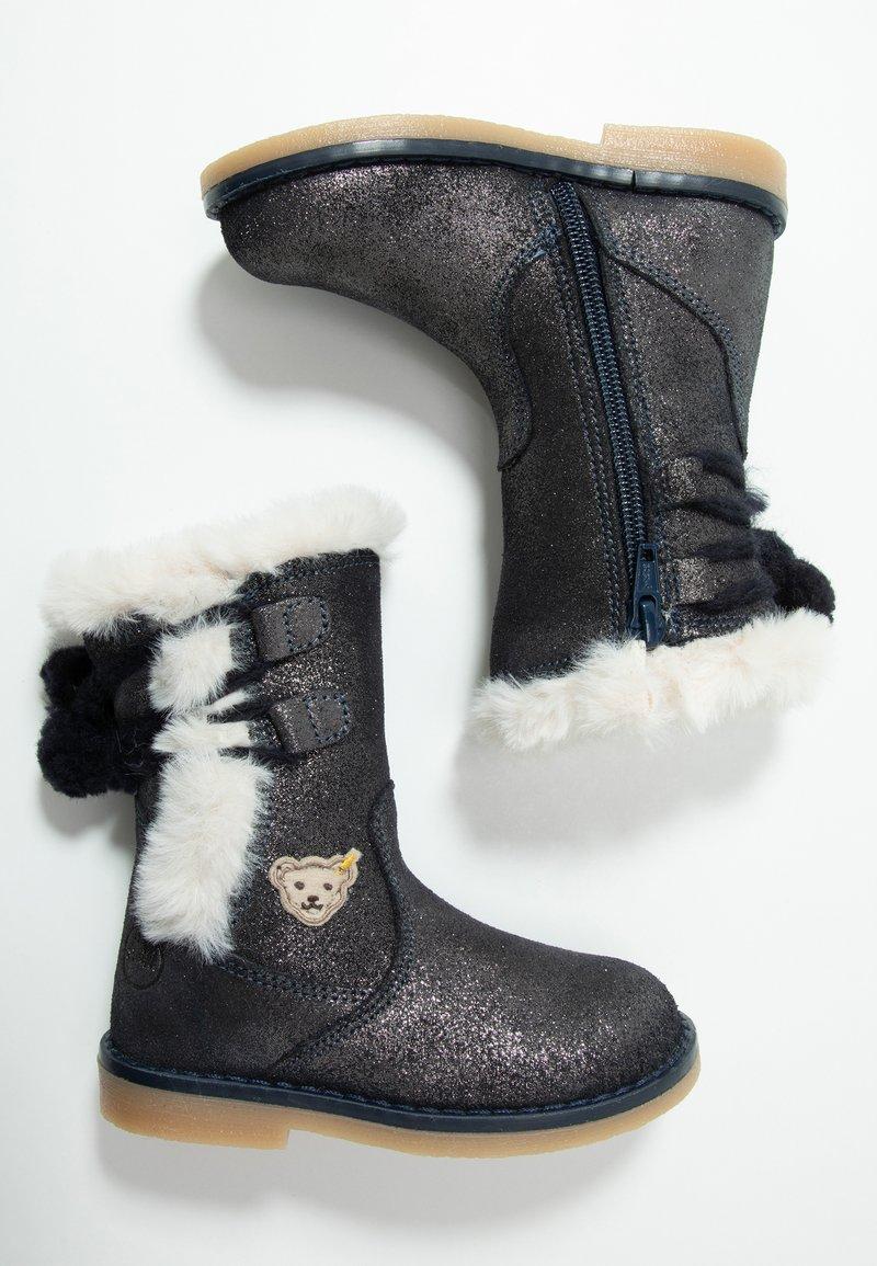 Steiff Shoes - PAMELAA - Nilkkurit - blue