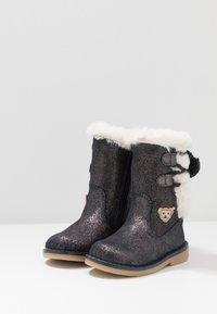 Steiff Shoes - PAMELAA - Nilkkurit - blue - 3