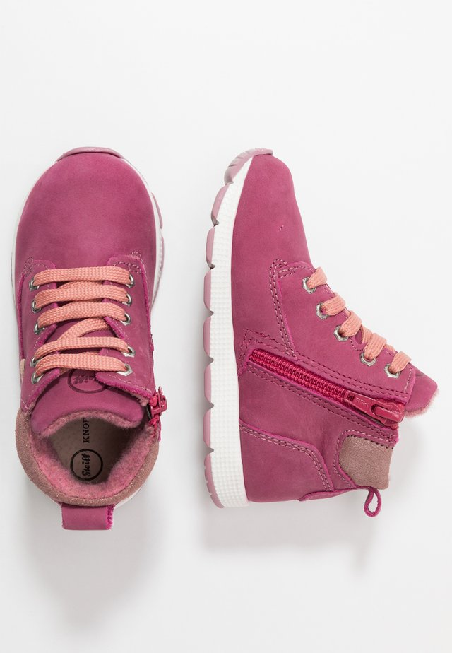 ZAACK - Lace-up ankle boots - purple