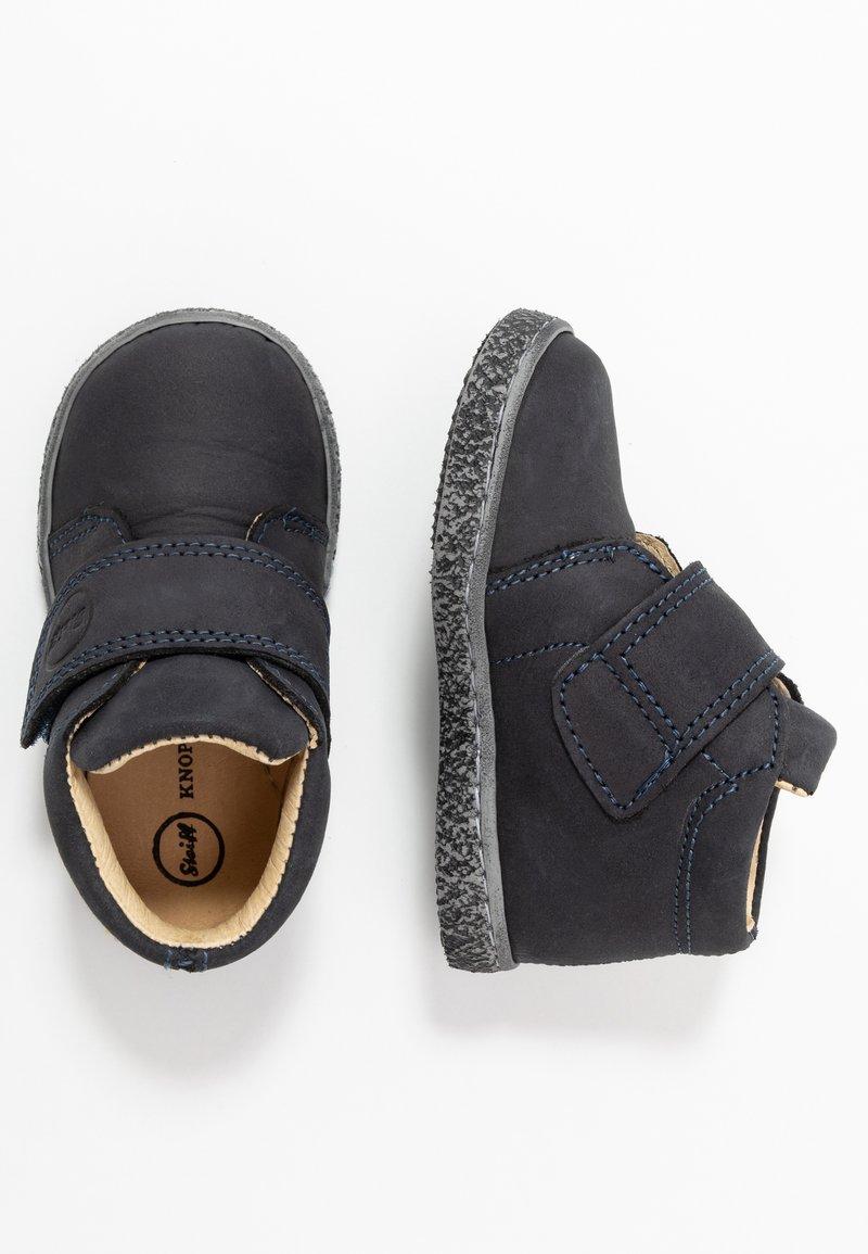 Steiff Shoes - ALFIEE - Babyschoenen - navy