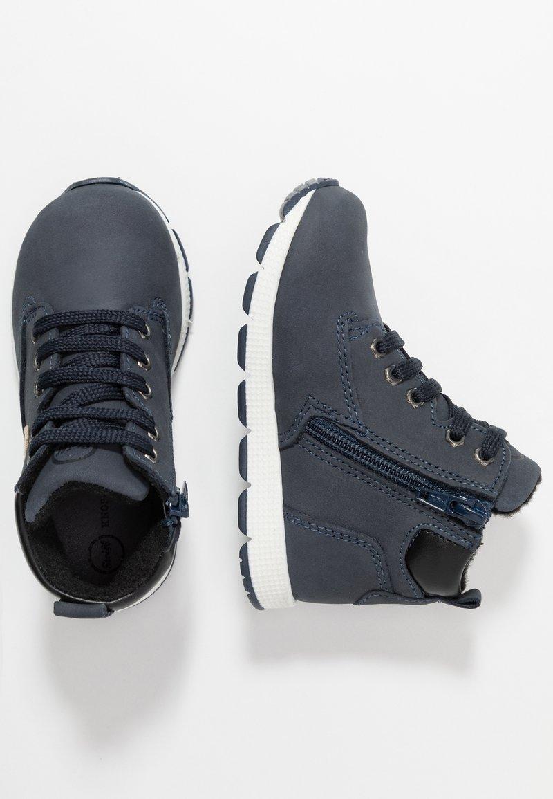 Steiff Shoes - ZAACK - Botines con cordones - navy