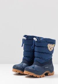 Steiff Shoes - ERICA - Winter boots - blue - 3