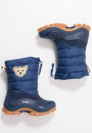 ERICA - Winter boots - blue