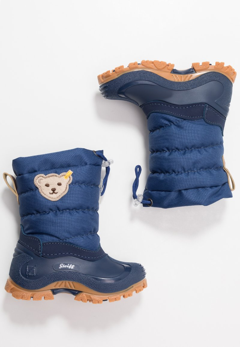 Steiff Shoes - ERICA - Winter boots - blue