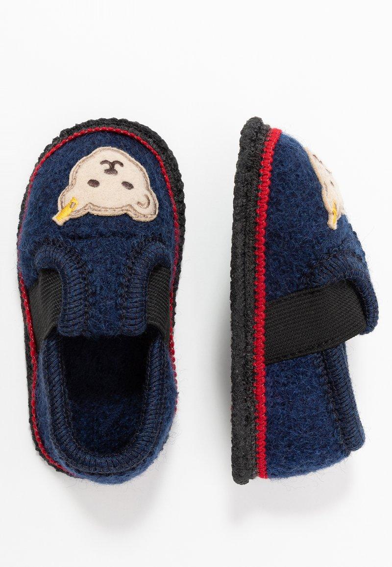 Steiff Shoes - BOBBY - Hjemmesko - navy