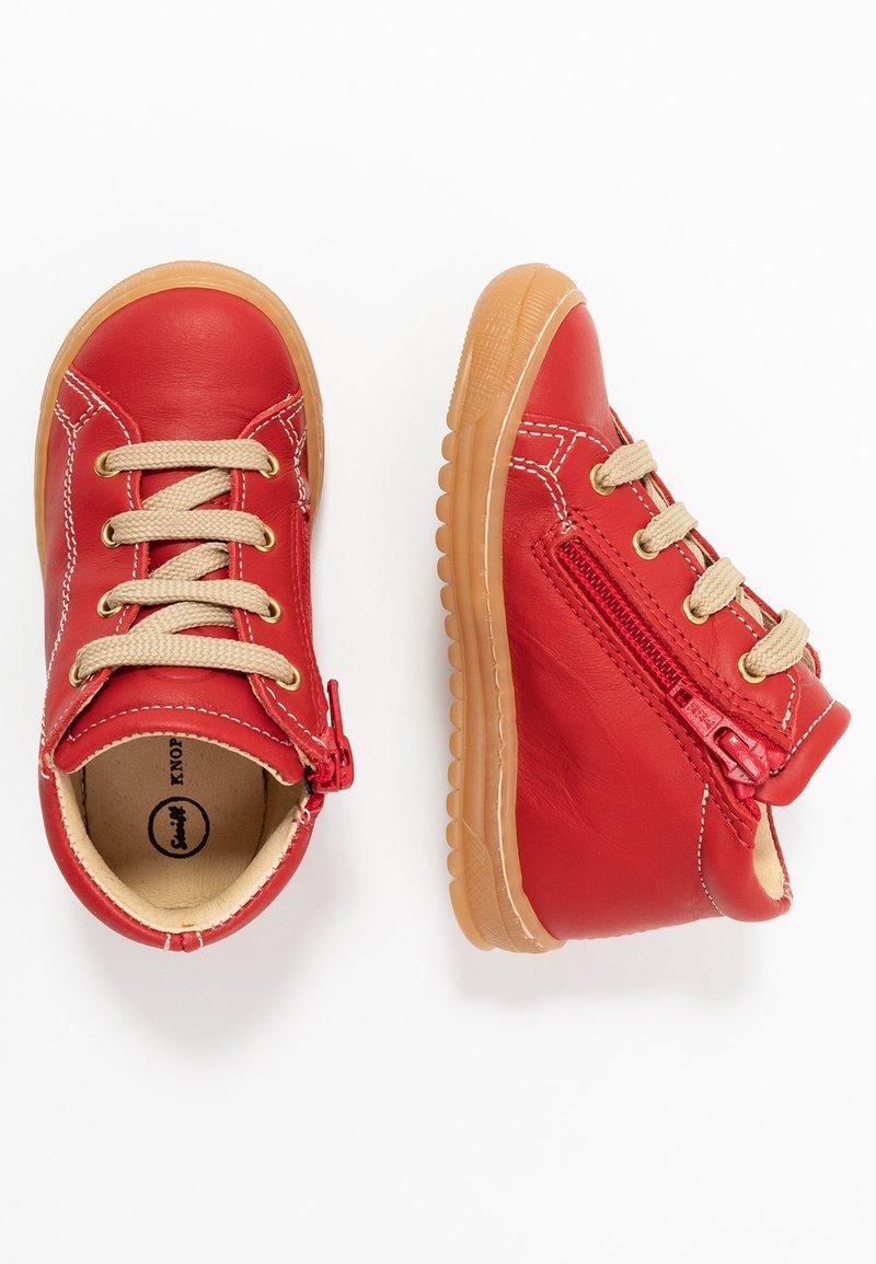 Steiff Shoes - OSCAAR - Babyschoenen - red