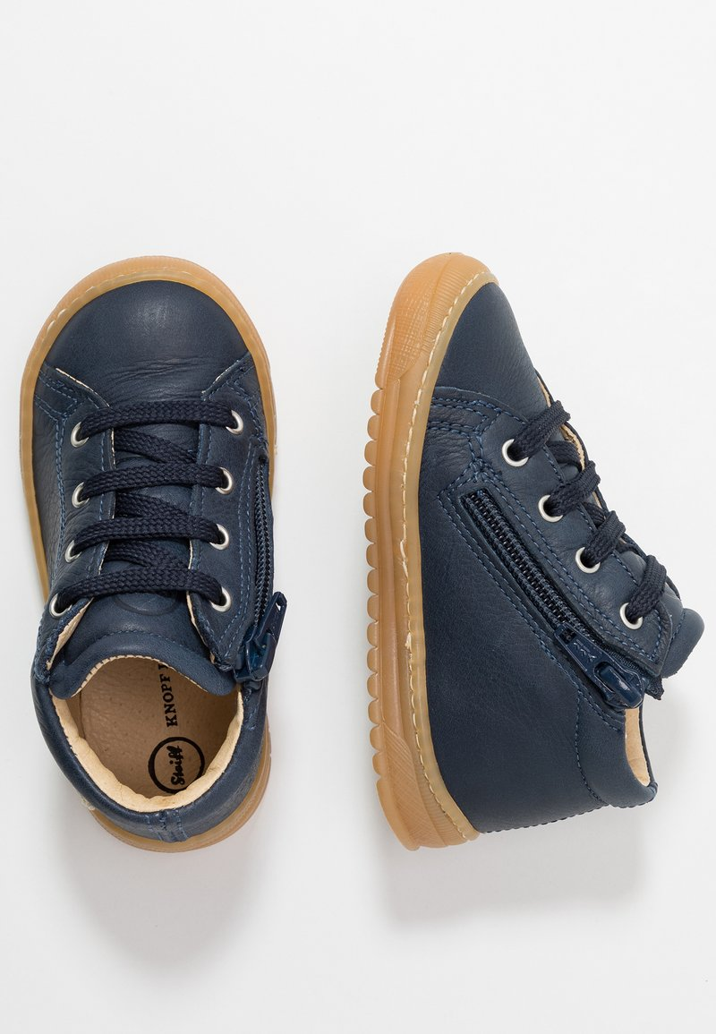 Steiff Shoes - OSCAAR - Lær-at-gå-sko - blue