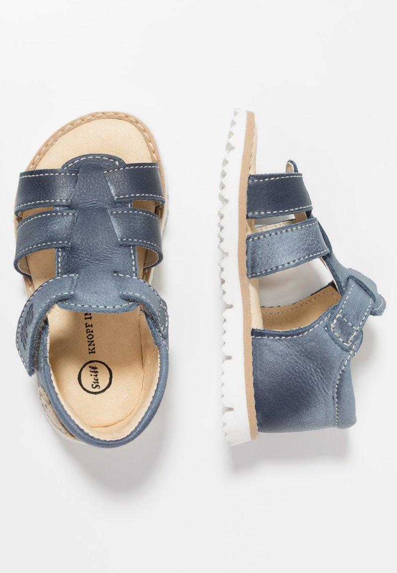 Steiff Shoes - SEBASTIAAN - Sandalen - blue vintage