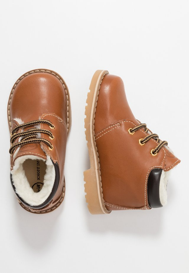 FELIXX - Lær-at-gå-sko - brown