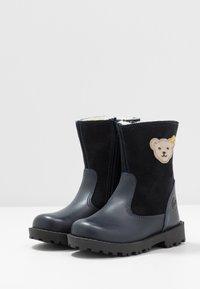 Steiff Shoes - NOORA - Talvisaappaat - dark blue - 3