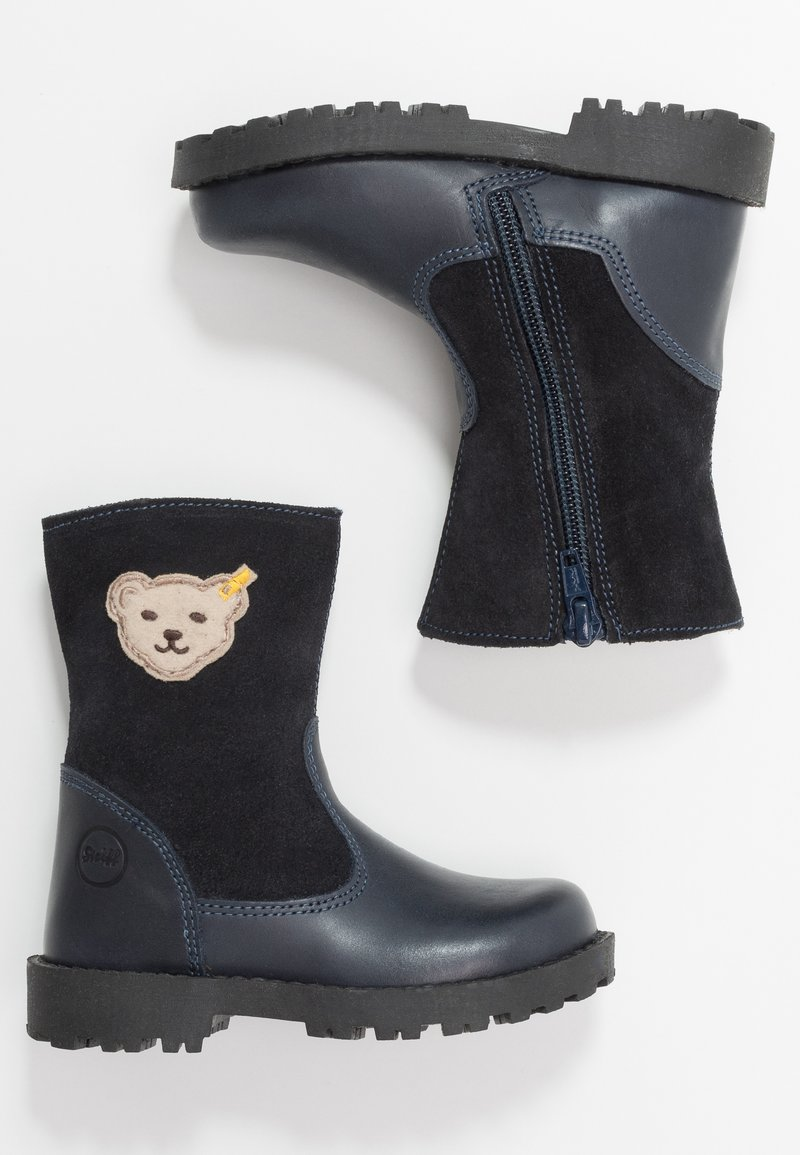 Steiff Shoes - NOORA - Talvisaappaat - dark blue