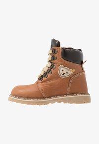 Steiff Shoes - ROBBIN - Bottines à lacets - brown - 1
