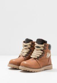 Steiff Shoes - ROBBIN - Bottines à lacets - brown - 3