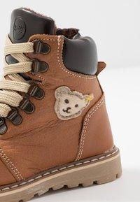 Steiff Shoes - ROBBIN - Bottines à lacets - brown - 2