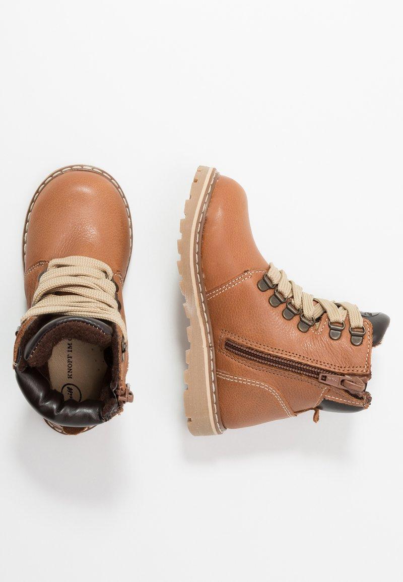 Steiff Shoes - ROBBIN - Bottines à lacets - brown