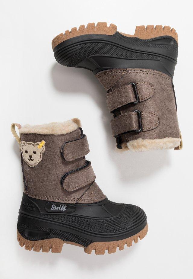 PAULI - Vinterstøvler - beige/brown