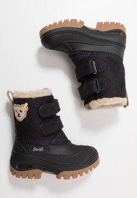 Steiff Shoes - PAULI - Talvisaappaat - navy - 0