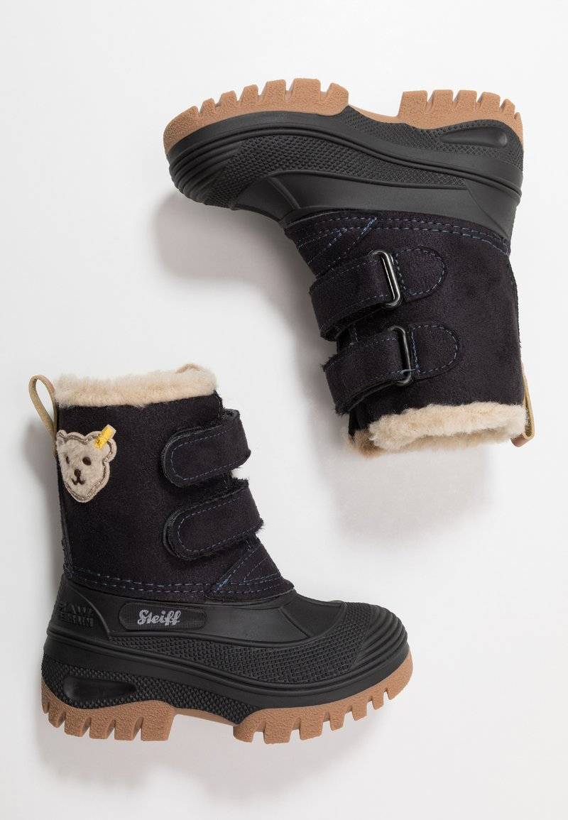 Steiff Shoes - PAULI - Vinterstøvler - navy