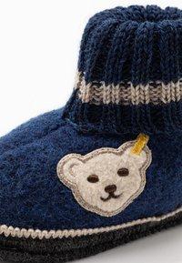 Steiff Shoes - Pantofole - navy - 2