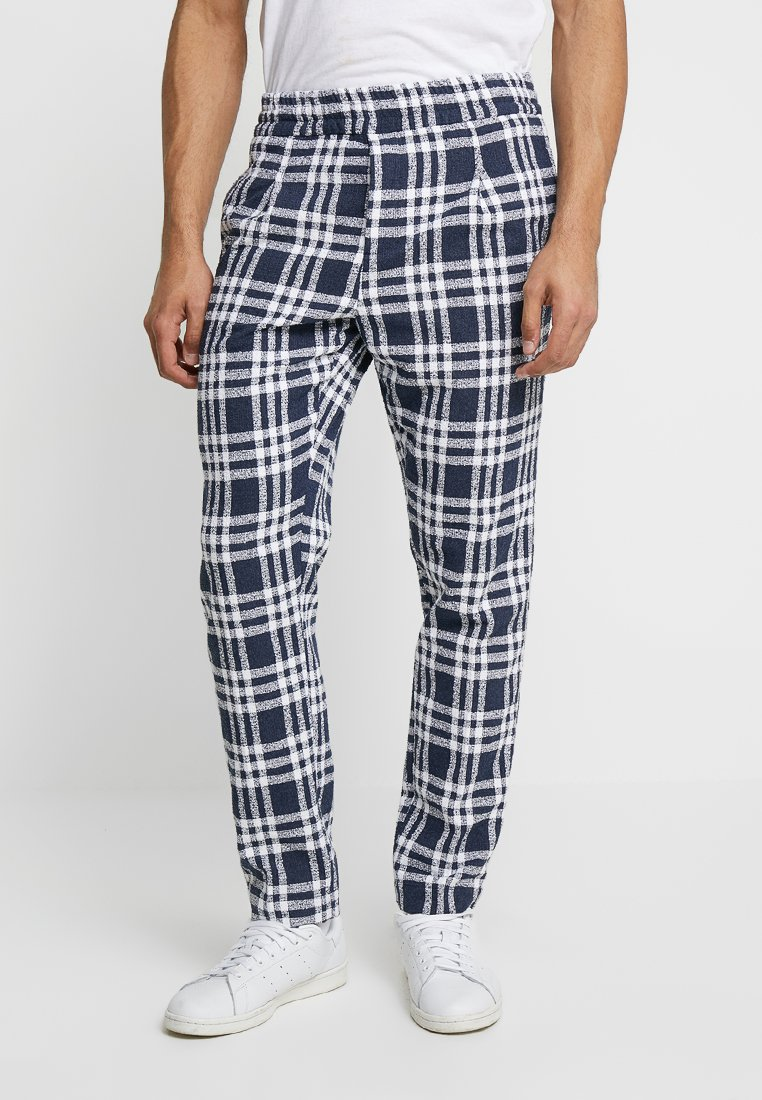 Soulland - PINO - Trousers - navy