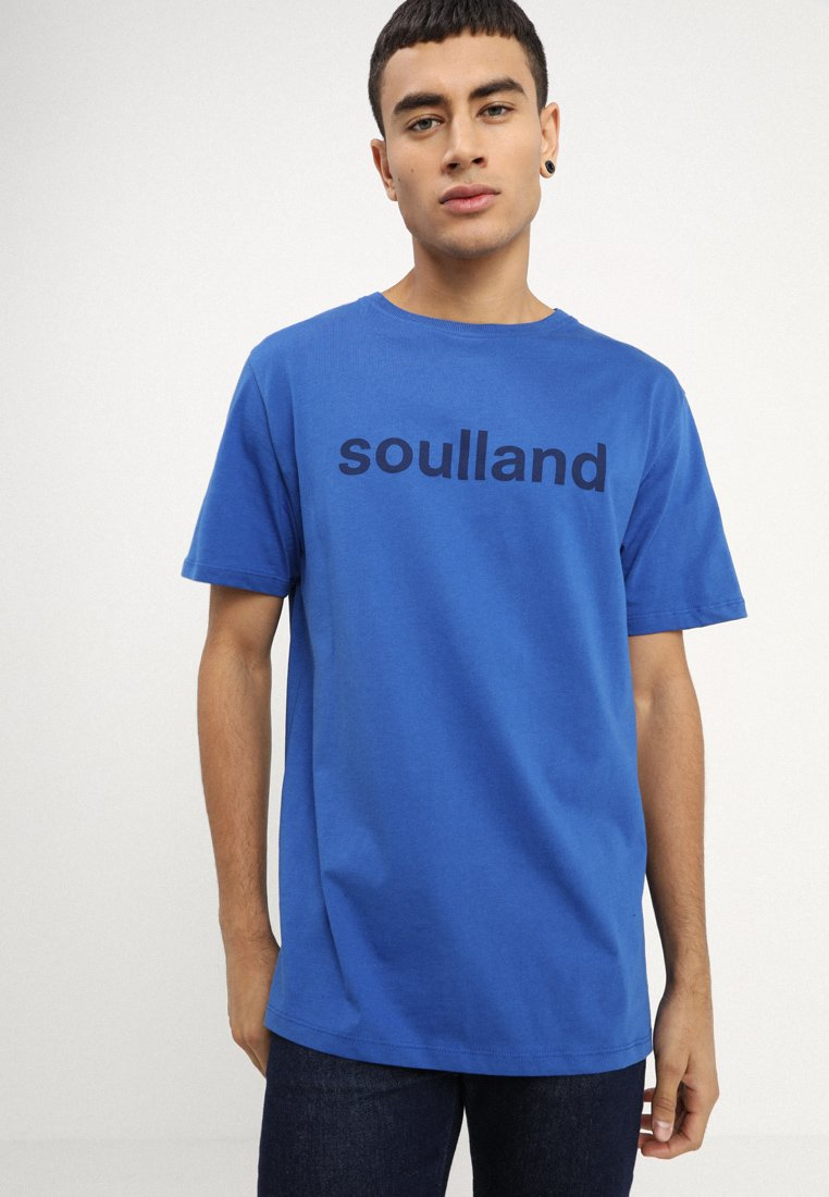 Soulland - CHUCK - T-shirt con stampa - blue