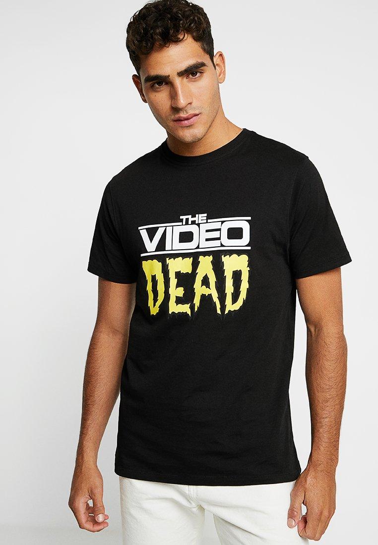 Soulland - TED - T-shirt imprimé - black