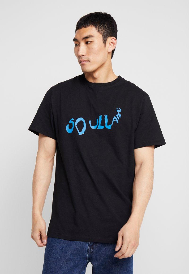 Soulland - FRIDELL - T-shirts med print - black