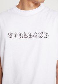 Soulland - ESKILD - T-Shirt print - white - 3