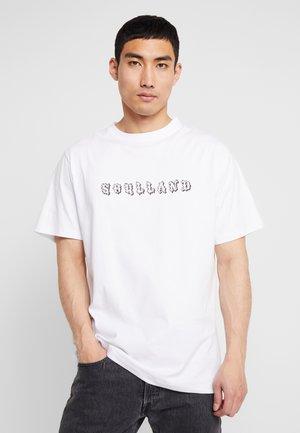ESKILD - T-shirt print - white