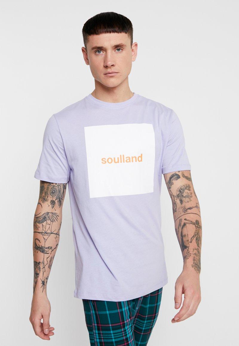 Soulland - MANSON - Print T-shirt - violet