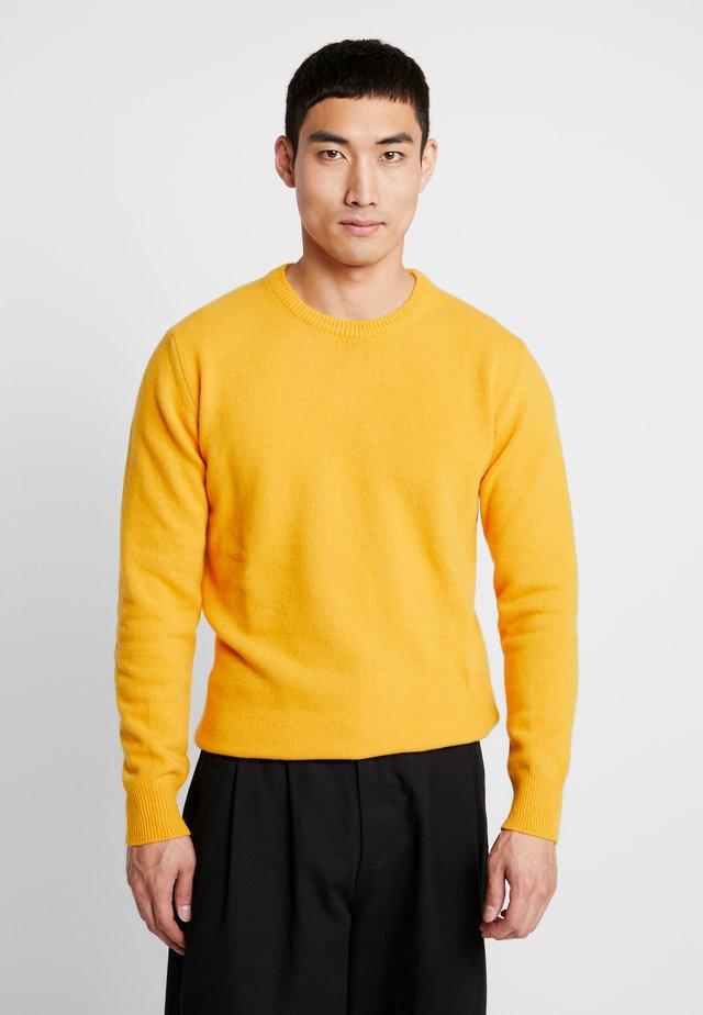 GIORGIO - Strikpullover /Striktrøjer - mustard yellow