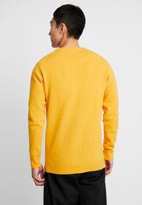 Soulland - GIORGIO - Jumper - mustard yellow - 2