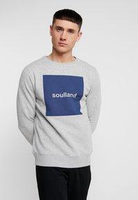 Soulland - ETHAN - Sweatshirt - grey melange - 0