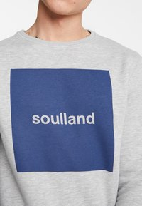 Soulland - ETHAN - Sweatshirt - grey melange - 4
