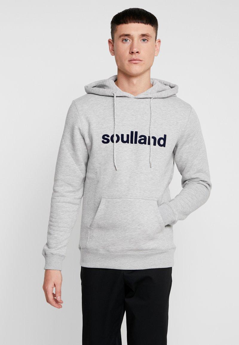 Soulland - GOOGIE - Hoodie - grey melange
