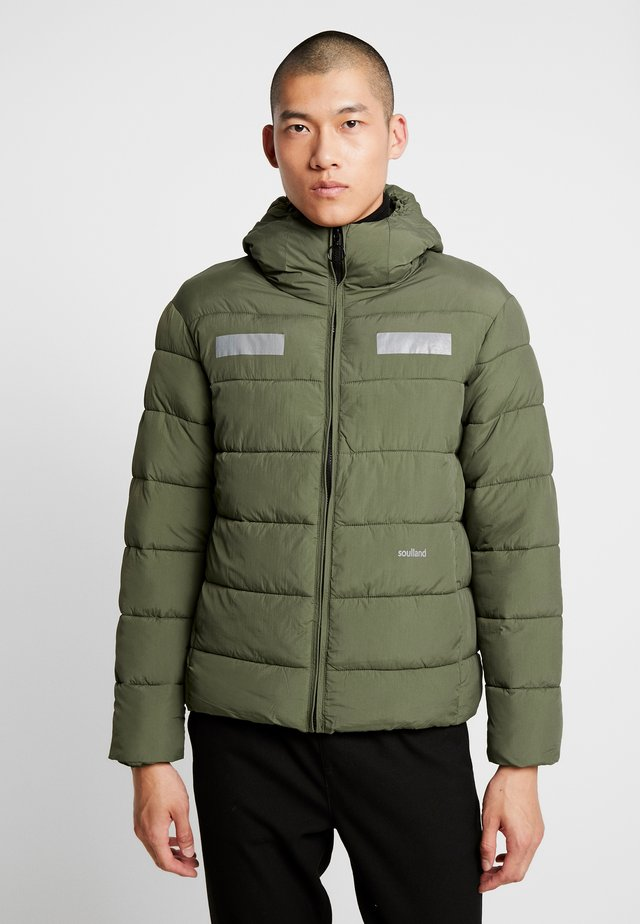 NILS - Winter jacket - green