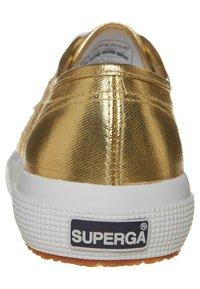 Superga - COTMETU - Sneakers laag - gold - 1