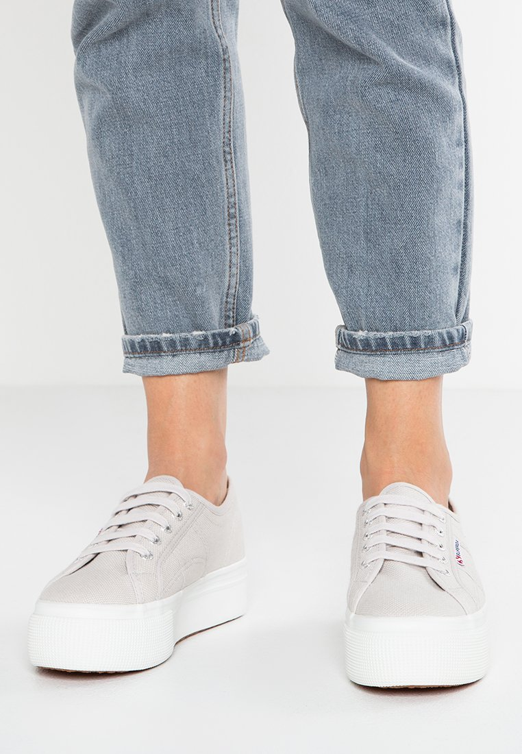 Superga - 2790 LINEA UP AND DOWN - Trainers - grey seashell