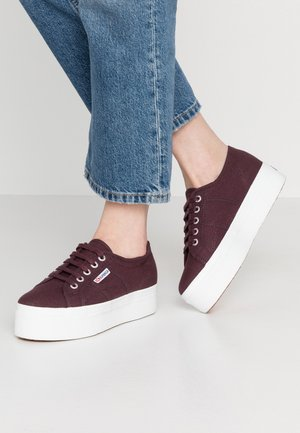 2790 LINEA UP AND DOWN - Trainers - red dark wine