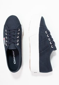 Superga - 2790 LINEA UP AND DOWN - Trainers - navy/white - 3