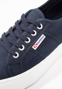Superga - 2790 LINEA UP AND DOWN - Trainers - navy/white - 2