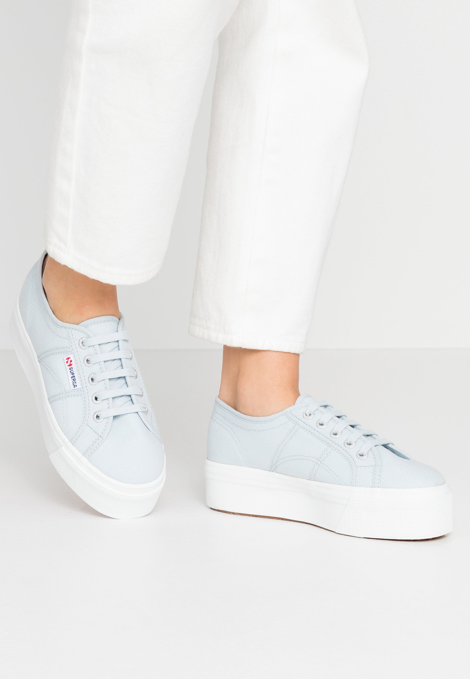 Superga 2790 LINEA UP AND DOWN Sneakersy niskie grey